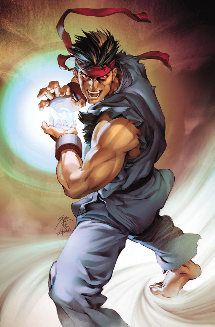 PF Dark Ryu by UdonCrew