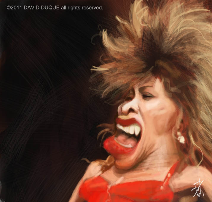 Tina Turner by David-Duque