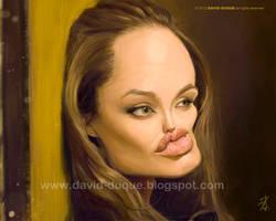 Angelina Jolie by David-Duque