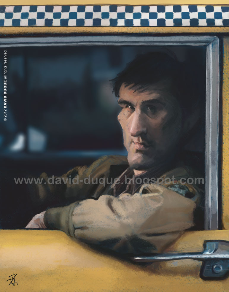 Taxi Driver by David-Duque
