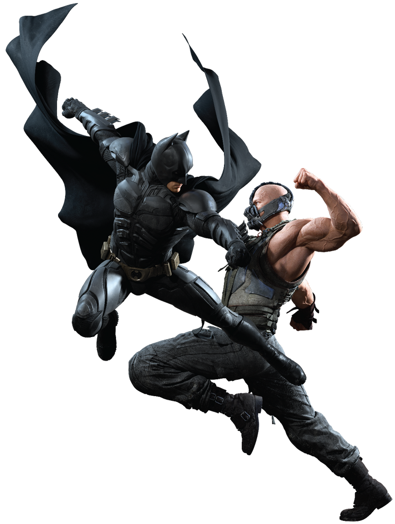 TDKR Dark Knight Rises BATMAN VS BANE PNG PROMO by ...