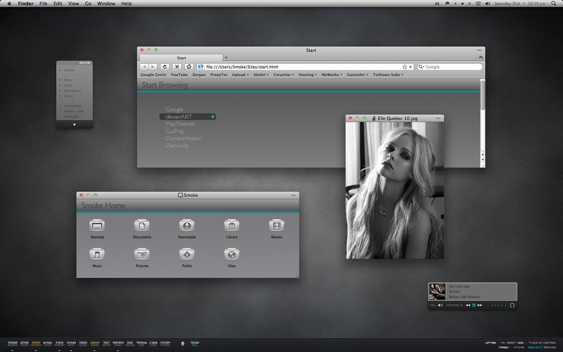 BlackNeon by neodesktop