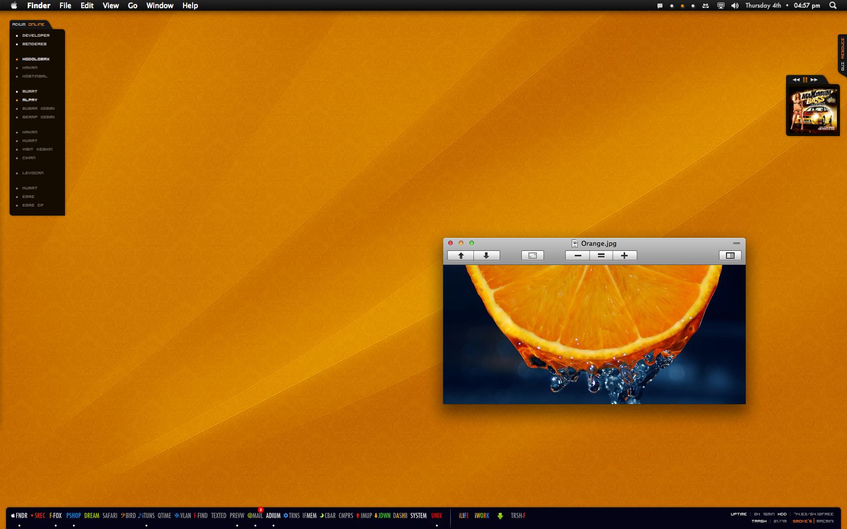Orange.02.2010 by neodesktop