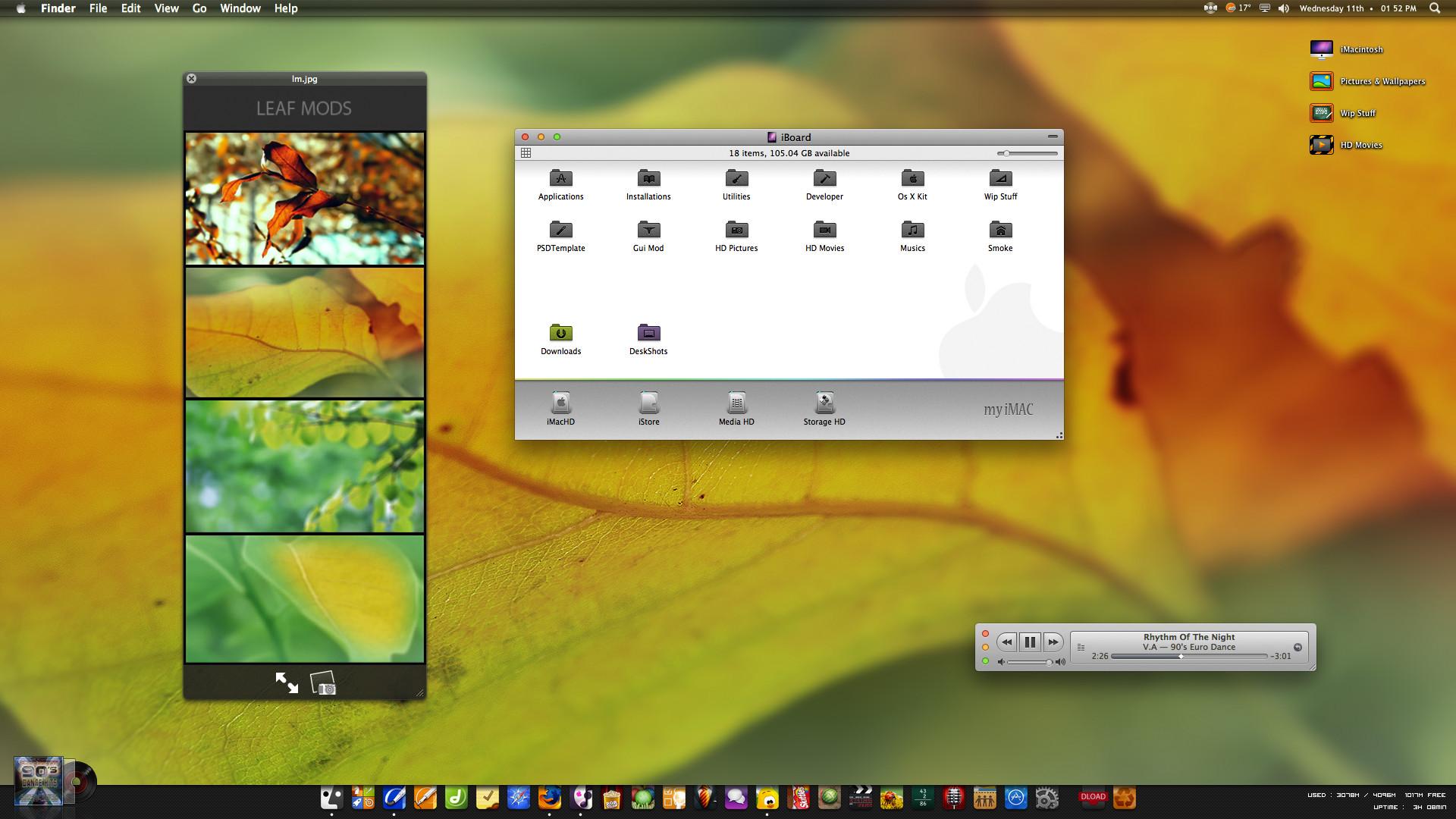 Leaf Mods by neodesktop