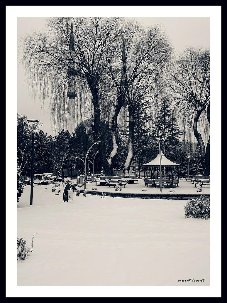 Winter from Ankara #1 by neodesktop