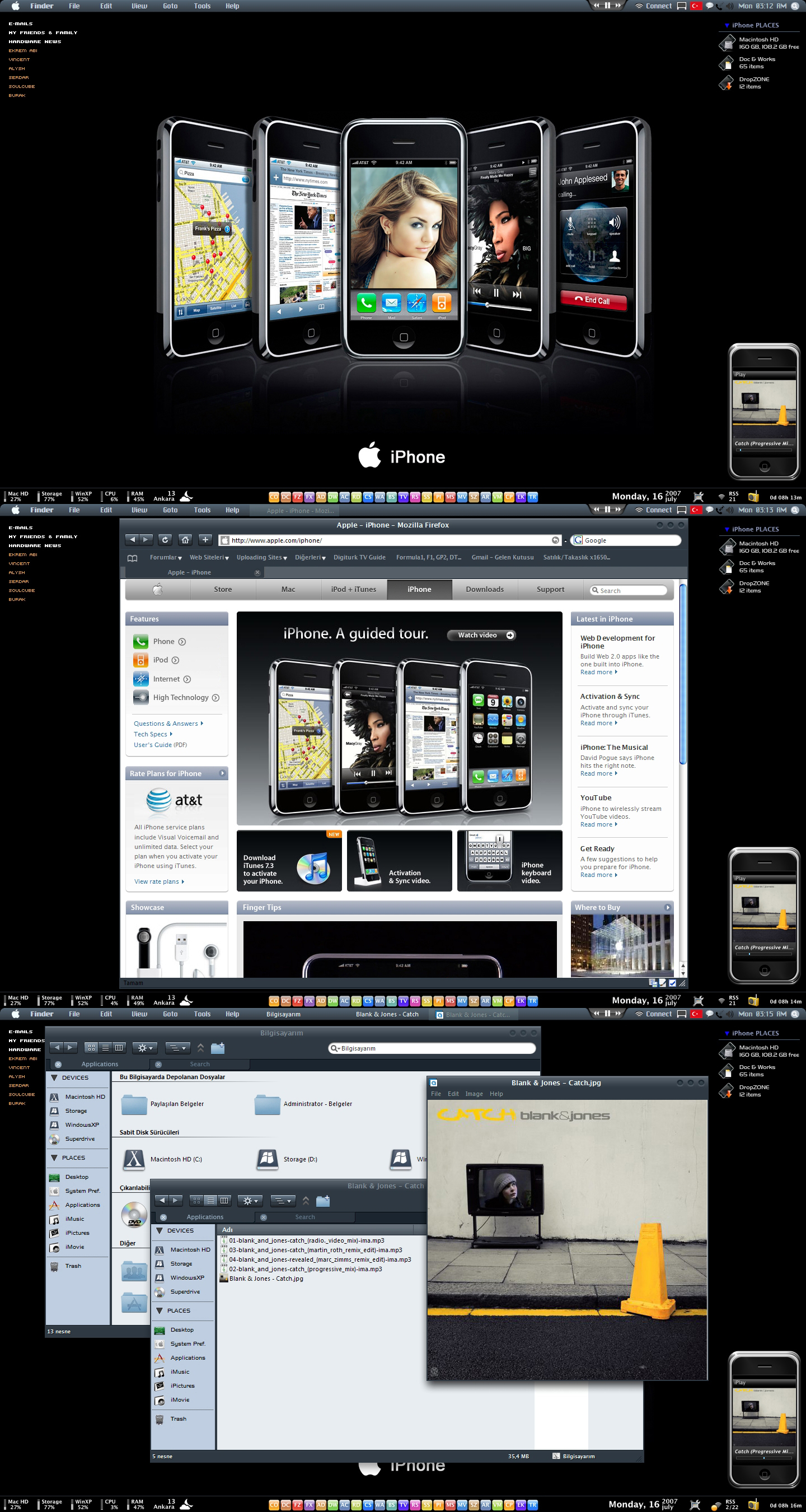iPhone Desktop by neodesktop