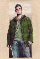 Jensen Ackles as Dean Winchester from Supernatural