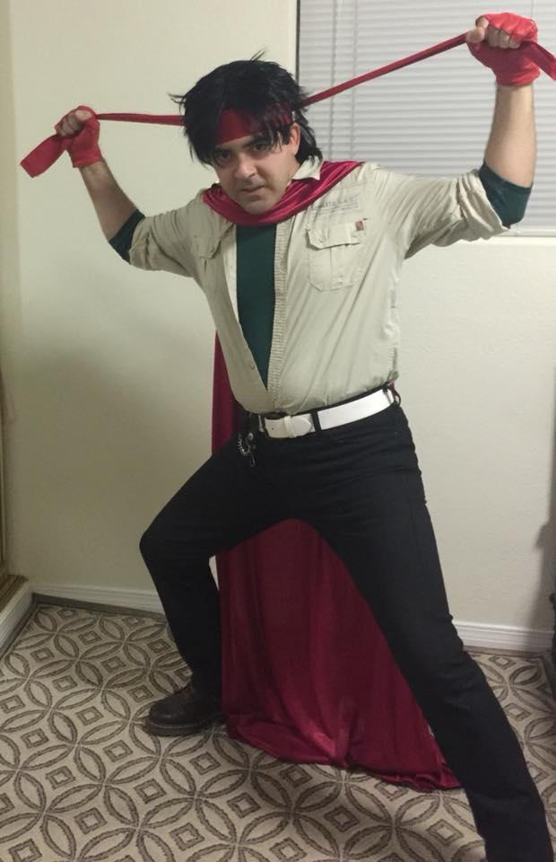Domon Kasshu cosplay by IronCobraAM