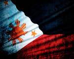 Philippine Grunge Flag