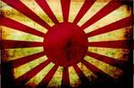 Japanese Navy Grunge Flag
