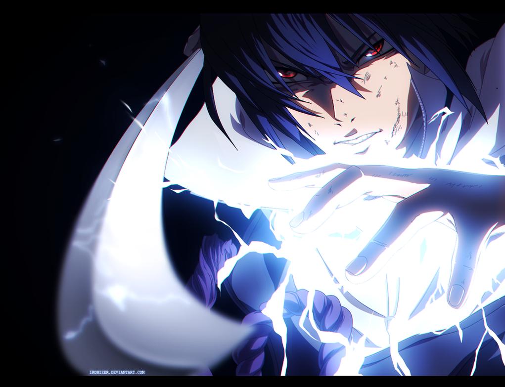 Uchiha sasuke art 3
