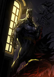 The Dark Knight by Ironizer