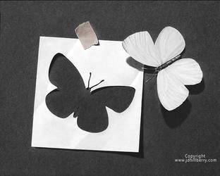 Paper Metamorphosis by JD-Hillberry