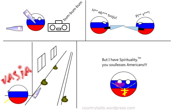 Смешные комиксы,веб-комиксы с юмором и их переводы,countryballs,россия