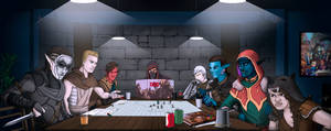 A normal RPG party