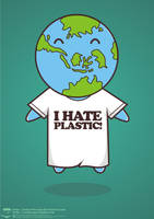 i hate plastic by NOF-artherapy