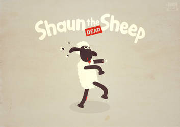 shaun the dead sheep by NOF-artherapy