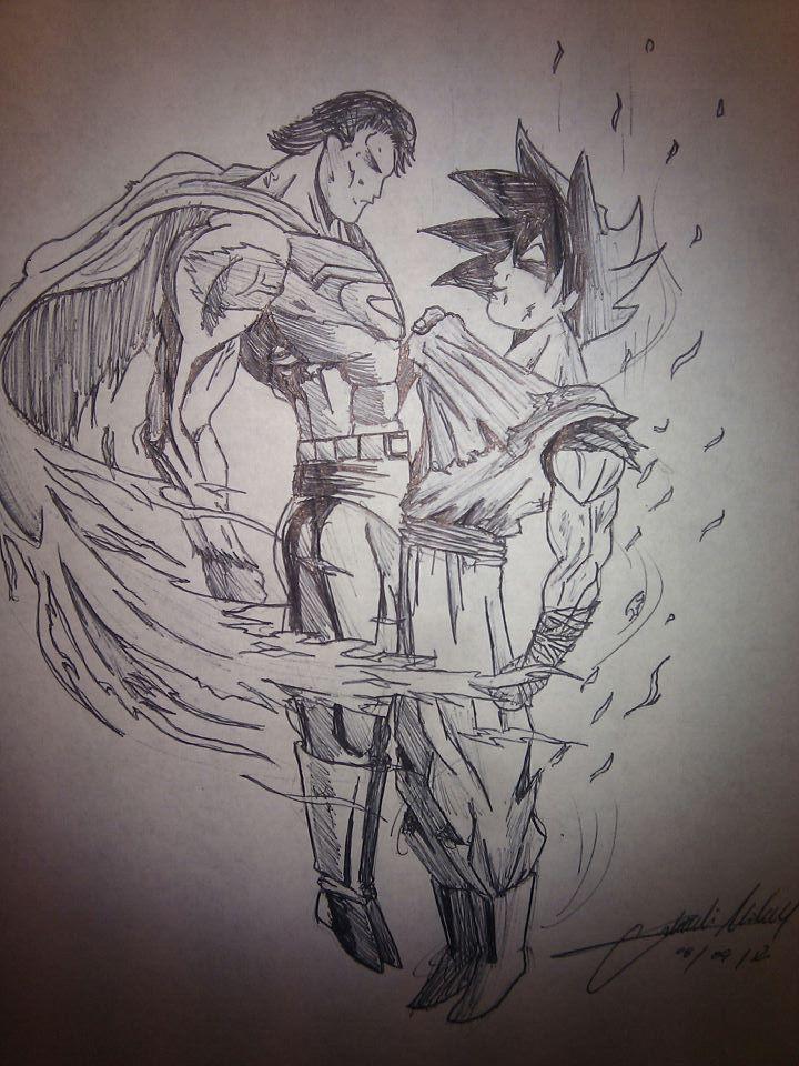 superman vs goku (2) by michaelorlandi97 on DeviantArt