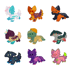 9 Pupper Adopts - 1p SB AUCTION - 0/9 CLOSED by Hemlock-Chan
