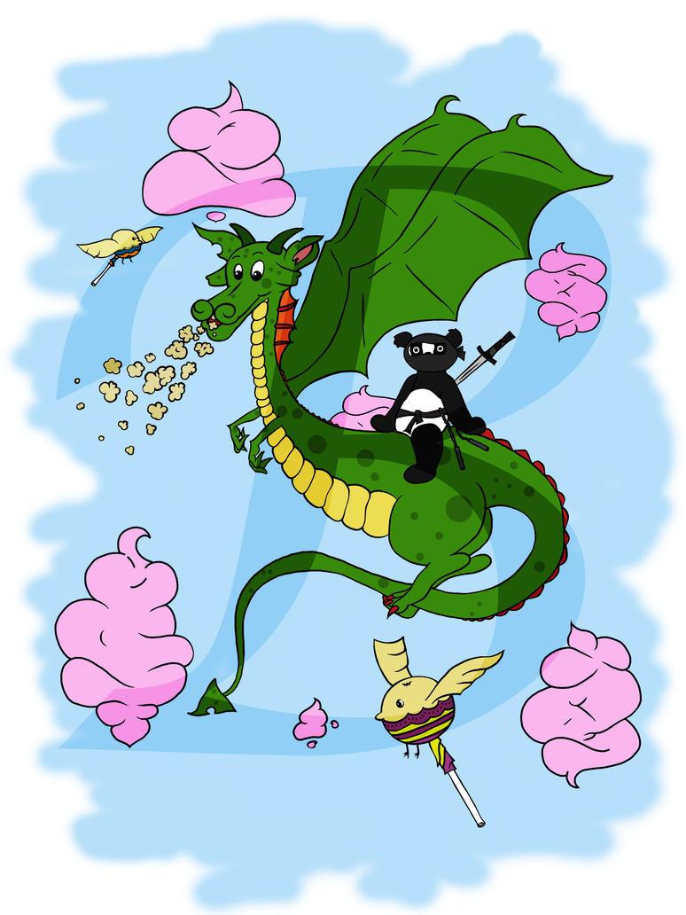 Ninja Panda by MissBMuffin