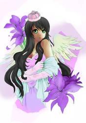 Iris coloured by nytefaerie