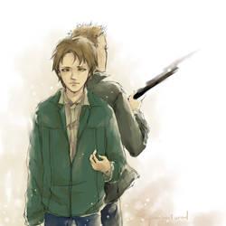 Teen Sammy and his bro