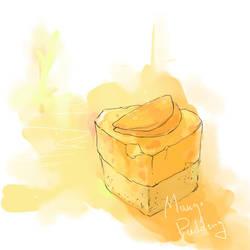 Mango Pudding Cake