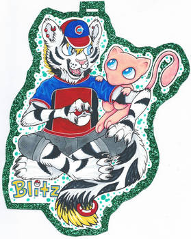 Blitz + Mew badge