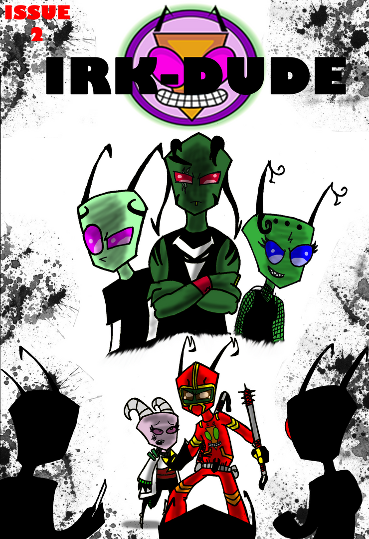 IRK-DUDE issue 2 Cover A by gomez-99