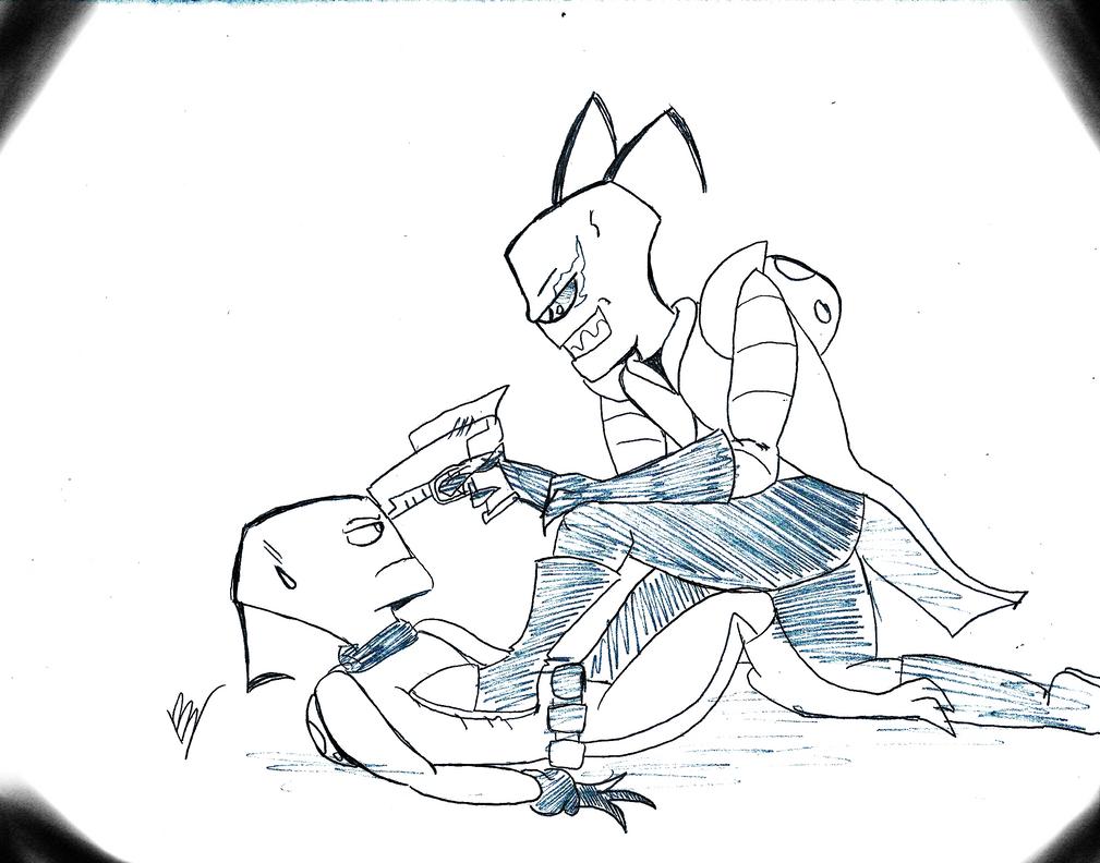 AT Stinger vs Crudge by gomez-99