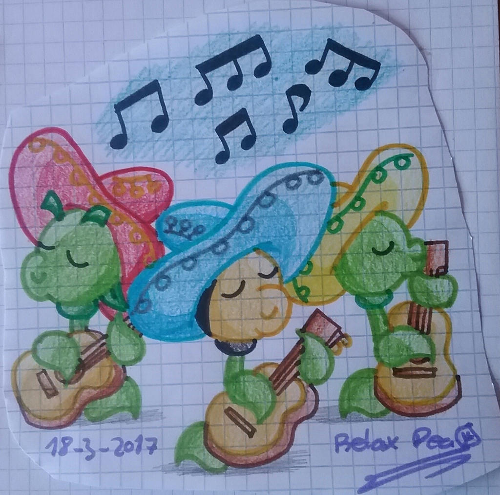 Mariachis by PlantsOfLove097