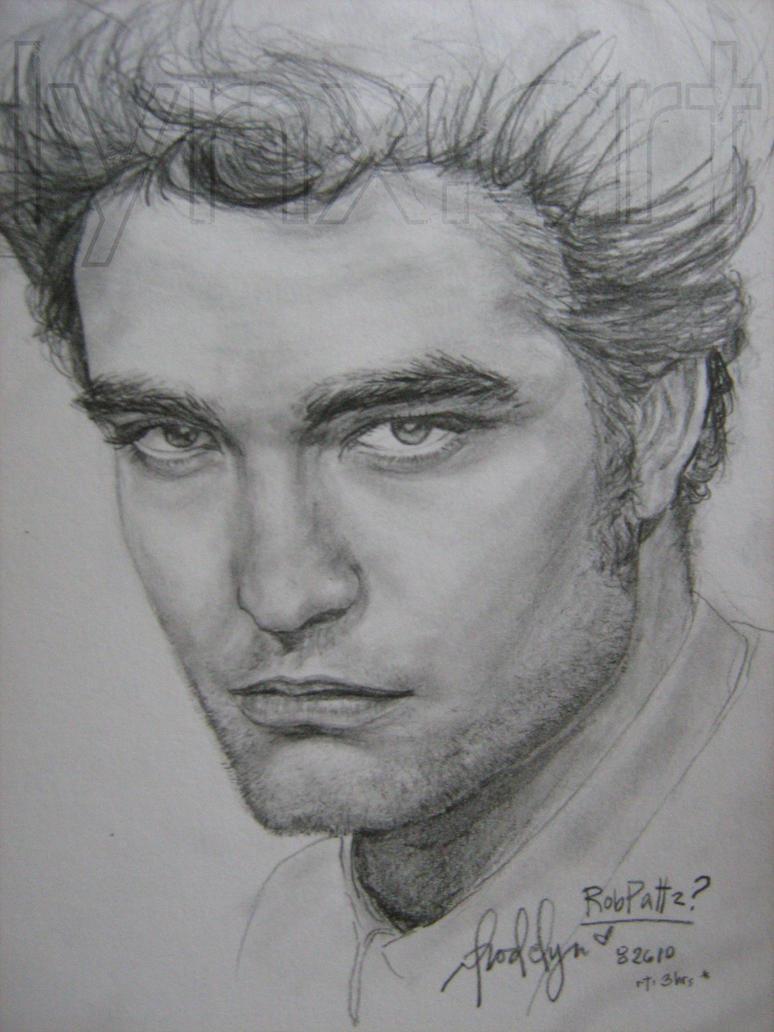 Drawings Of Robert Pattinson Robert pattinson's Robert Pattinson