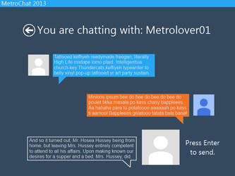 MetroChat Concept by metrolover01