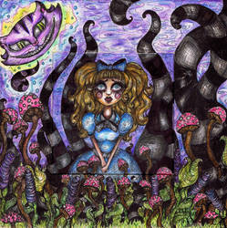Lost In Wonderland by HollyBlueArchibald