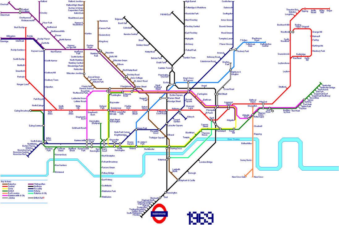 London Underground Map in 1969 by AndrewTiffin on DeviantArt