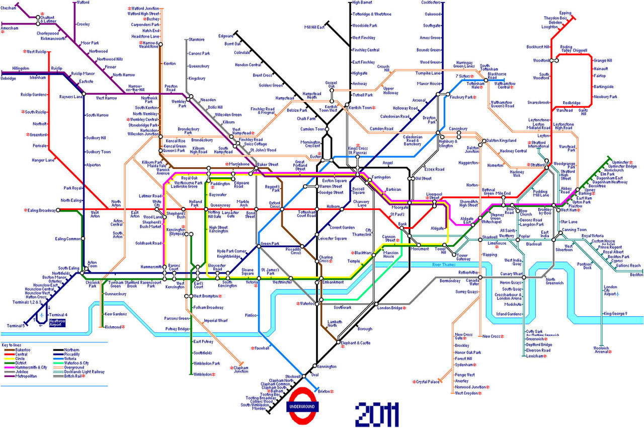 printable london tube map 2017