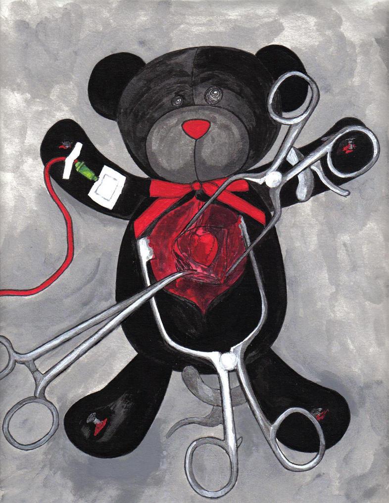 Teddy's Open Heart Surgery by Kelleck