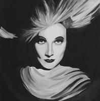 Marlene Dietrich by Kelleck