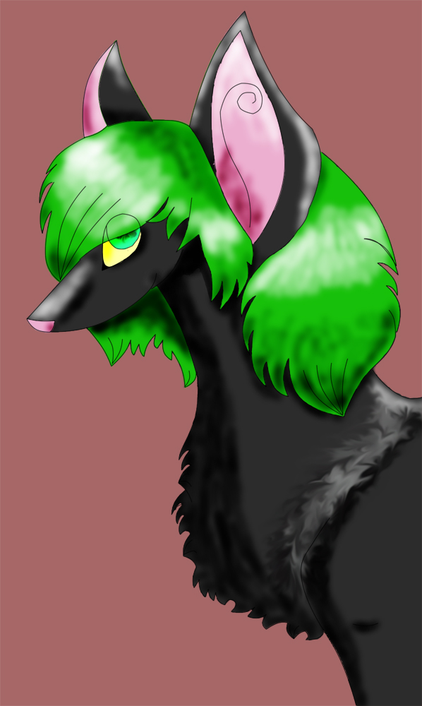 Wolf or dog by Wolpherlynn