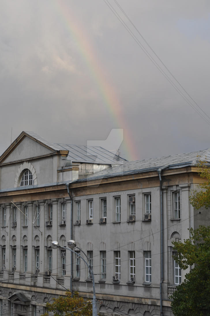 rainbow by Wolpherlynn