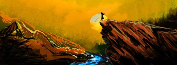 Digital painting study by dabones