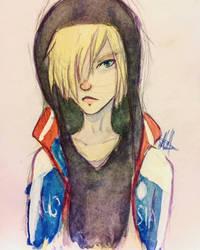 Yurio Watercolour by PotatoThug