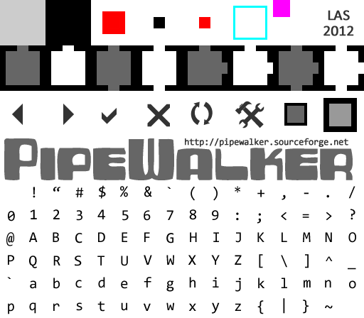 Pipewalker GRIDMONO theme (0.9.3 or newer) by LauraSeabrook