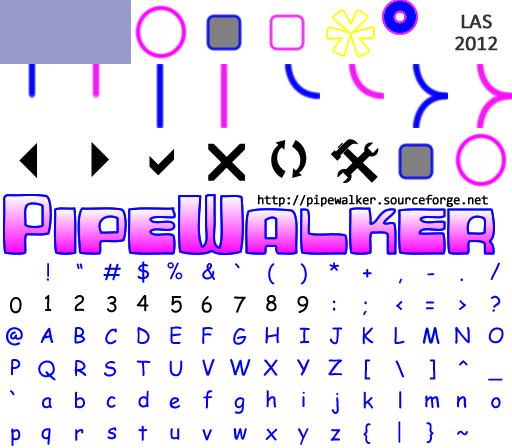Pipewalker WONKY theme (0.9.3 or newer) by LauraSeabrook
