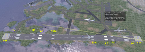 Runway Markings by LauraSeabrook