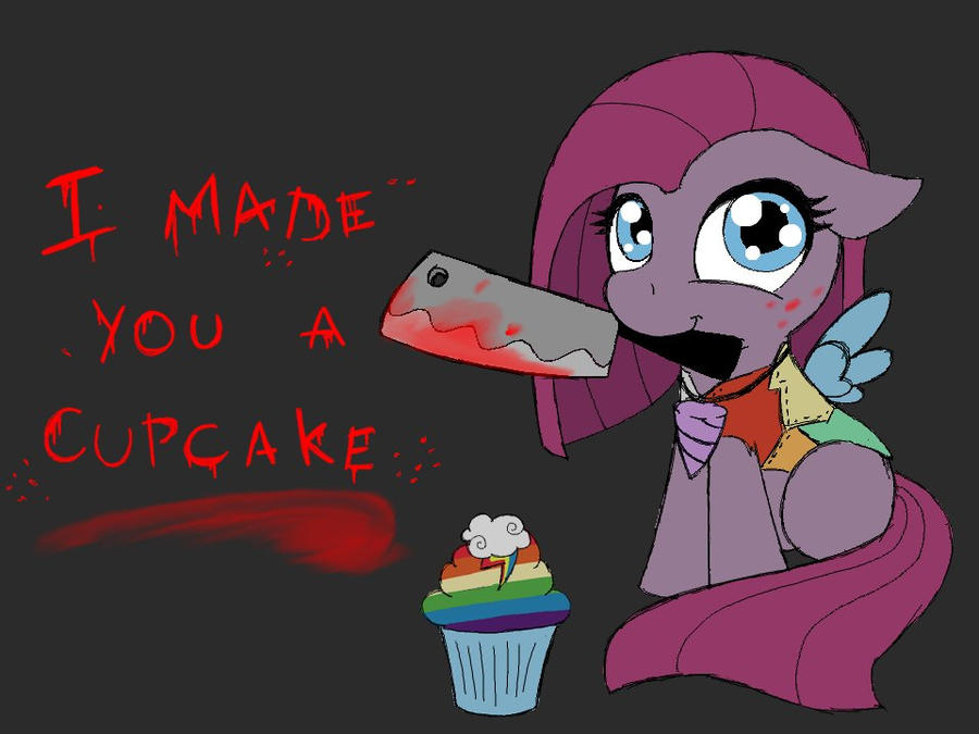 pinkamena cupcakes