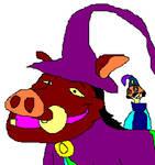 AT: Timon as Mambo and Pumbaa as Munk