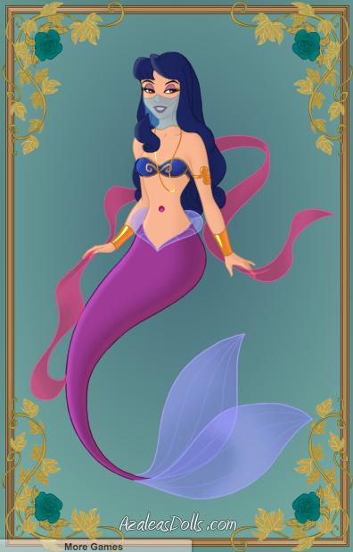 Little Mermaid OC: Sapphira by danfrandes