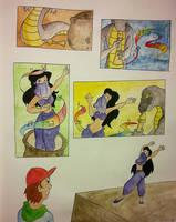 Charr and Snakirla by Prilla39420