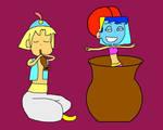 GA: Marucho and Vana Glama by danfrandes